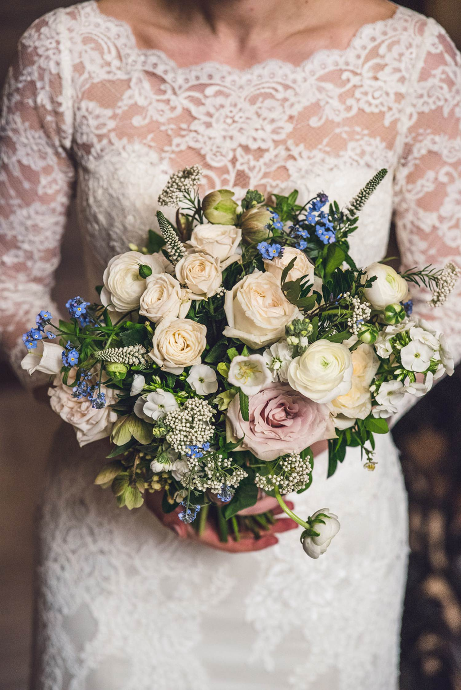 Bluesky flowers Dartmouth House wedding photography