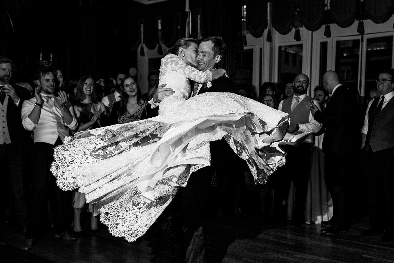 First dance Dartmouth House wedding photography