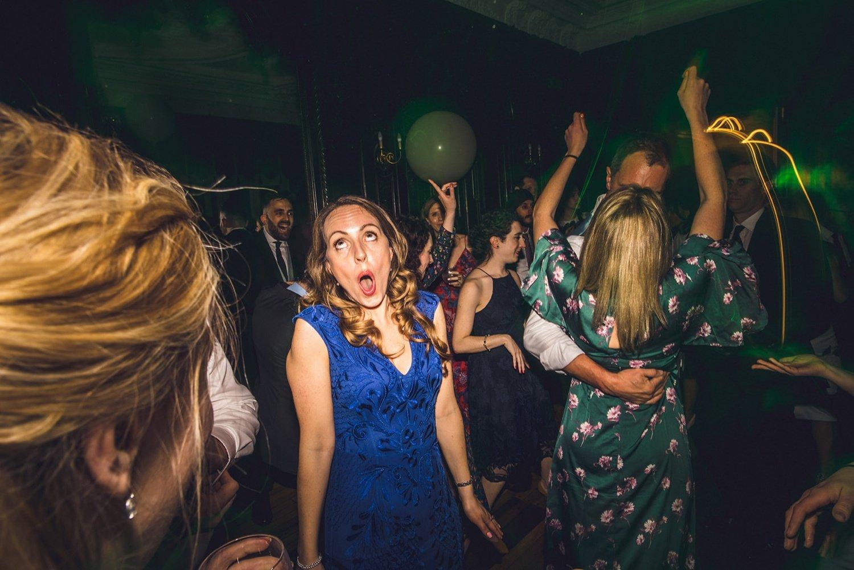 Wedding party Dartmouth House wedding photography